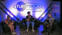 Sam Feldt en interview dans le studio de Fun Radio à l'EMF 2019