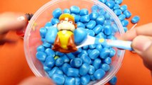 Haribo Maoam Blue Kracher with Surprise Toys - Hide & Seek Game