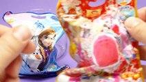 Frozen vs Princess Precure Bath Bomb Battle