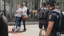 E-Scooter: Polizeikontrolle in Wien