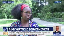 """Démission de François de Rugy: pour Sibeth Ndiaye, """"c'est une décision personnelle"""""""
