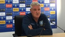 Sheffield Wednesday manager Steve Bruce on his Sheffield United stint