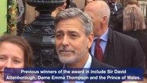 George Amal Clooney at Edinburgh charity gala