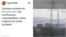 Fessenheim: l'ASN pointe des insuffisances face au risque d'incendie d'un réservoir de fuel
