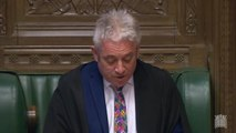 John Bercow reiterates that Theresa May cannot bring back another meaningful vote