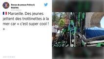 Marseille : Des trottinettes électriques régulièrement repêchées dans la mer