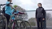 Lizzie Deignan visits the Leeds Yorkshire Bank Bike Library-1