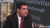 Richard Burgon denies making comments about 'zionists'