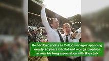 Billy McNeill, Celtic Legend and Lisbon Lions Captain, Dies Aged 79