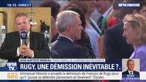 """Selon le porte-parole de LaREM, """"François de Rugy n'est pas dans la soif de l'apparat et du luxe"""""""