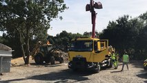 Mardi 16 juillet, le QG des gilets jaunes a été démoli