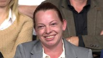 Tory voter berates Amber Rudd on Question Time over tax credits