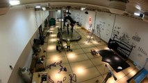 Timelapse of Dippy the Dinosaur being installed at the Great North Museum