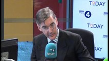 Jacob Rees-Mogg clashes with A.N Wilson