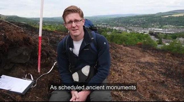 Ilkley Moor fire archeology