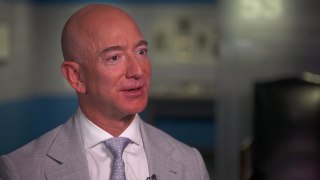 Jeff Bezos: Everyone who goes to space comes back