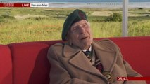 D-Day veteran remembers the event during BBC News interview