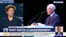 """Julien Bayou (EELV) estime que les dîners de François de Rugy ont """"jeté un discrédit sur toute la classe politique"""""""