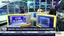 Le Club de la Bourse: Julia Van Aelst, Jean-François Robin, Antoine Lesné, Pierre-Alexis Dumont et Jean-Louis Cussac - 16/07