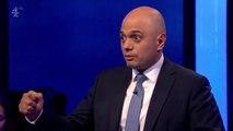 Sajid Javid talks of prejudice he has faced during Tory leadership debate