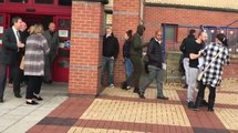 Mallik Wilks leaving Leeds Magistrates Court in October 2018