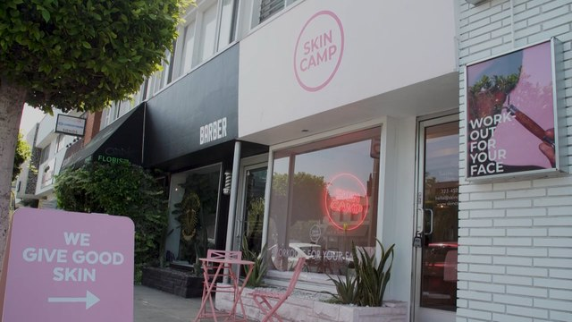 L.A.'s Skin Camp Lets You Work Out Your Face