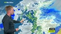 MET Office Weather Report (Scotland) - Monday 24th June 2019