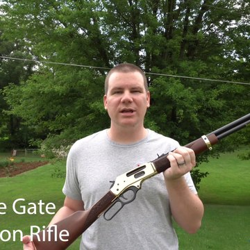 The New Henry Side Gate Rifle and Some Lever Gun History