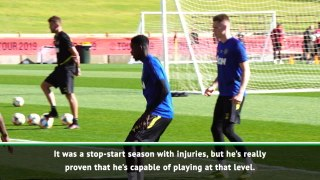 Solskjaer 'excited' to see more of Tuanzebe