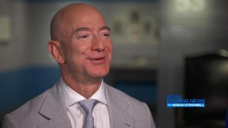 Jeff Bezos on why space travel is important