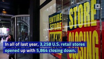 US Retailers Shutting Down at Faster Rate This Year Than in 2018