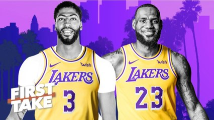 'Major bust' if the Lakers don't win a title with LeBron, Anthony Davis – Max Kellerman _ First Take
