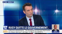 """Florian Philippot: """"J'aurais préféré que Rugy reste mais qu'on ne vote pas le CETA demain"""""""