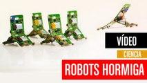 [CH] Robots hormiga que se ayudan unos a otros