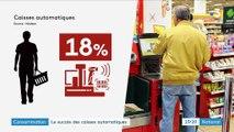 Consommation : les caisses automatiques plébiscitées