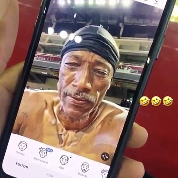 DeMar DeRozan gets angry, depressed, fed up at old face filter Snapchat app 7-16-19