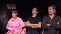 "Najwa Nimri ""va a muerte"" a por El Profesor en 'La Casa de Papel'"