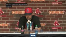 Alex Cora Says Making Adjustments Is Just 'Part Of' Game