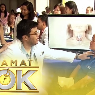 Jing Castañeda presents the program's medical mission | Salamat Dok