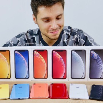 iPhone XR Unboxing- All Colors