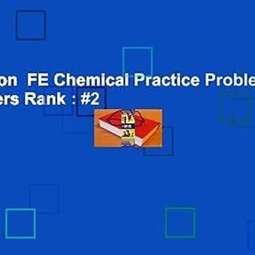 Full version  FE Chemical Practice Problems  Best Sellers Rank : #2