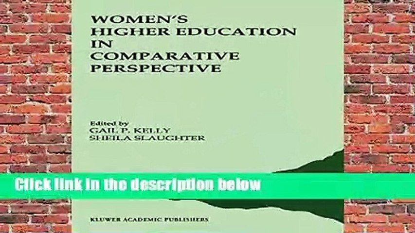 Full E-book  Women S Higher Education in Comparative Perspective (191) Complete