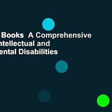 About For Books  A Comprehensive Guide to Intellectual and Developmental Disabilities  For Kindle
