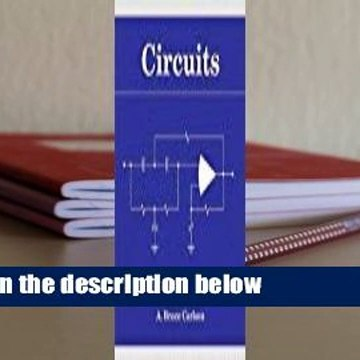 Circuits: Engineering Concepts And Analysis Of Linear Electric Circuits  For Kindle