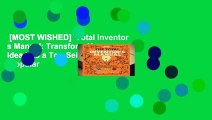 [MOST WISHED]  Total Inventor s Manual: Transform Your Idea into a Top-Selling Product (Popular