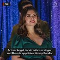 Angel Locsin hits Jimmy Bondoc over post on ABS-CBN franchise renewal