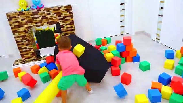 Vlad and Nikita Play with toys - Hide and seek with Mom Compilation video for kids