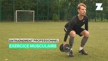Entraînement de football professionnel: exercices de tonification musculair
