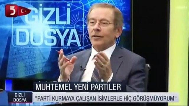 Abdüllatif Şener'den Abdullah Gül ve Ahmet Davutoğlu'na çağrı