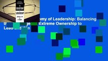 Online The Dichotomy of Leadership: Balancing the Challenges of Extreme Ownership to Lead and Win